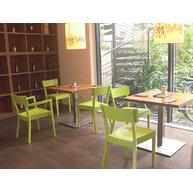 židle 710 v Café Peters v Mnichově