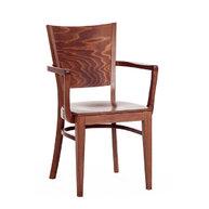 židle 917 s masivním sedákem