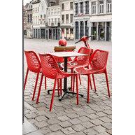 židle Air a stůl Verona Compact
