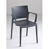 židle Bakhita B 21 Dark Grey