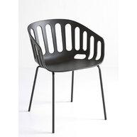 židle Basket v černé barvě