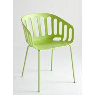 židle Basket v zelené barvě