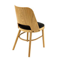 židle Budapest DUB Natural / Black 7006