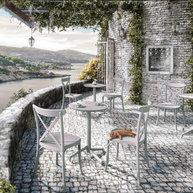 židle Capri na terase