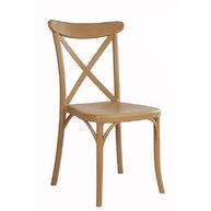židle Capri v barvě Wood