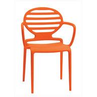 židle Cokka s područkou oranžová