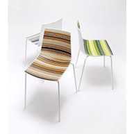 židle Colorfive v barevném provedení Marrone