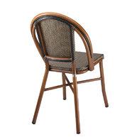 židle Dhor 320 Alurattan zadní pohled