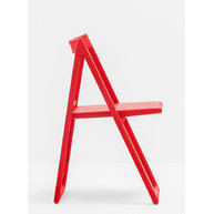 židle ENJOY v červené barvě
