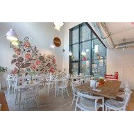 Židle Ironica a One v restauraci Nykke