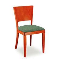 židle Josefina s čalouněným sedákem