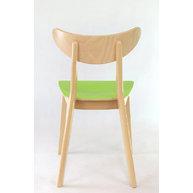 židle LOF 4230 VS s barevnou fólií a potiskem
