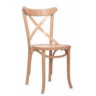 židle Lugano v přírodním buku