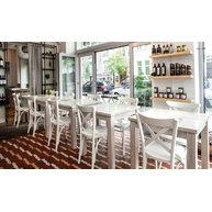 Židle Lugano v restauraci Sofra