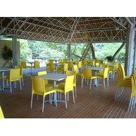 židle Maya ve žluté barvě