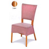 židle Mister loupaný ratan moření Cognac