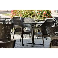 židle Olimpia a sklopné podnože Verona