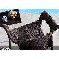 židle Olimpia bronzová