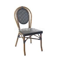 židle Paris Textylene Black / Bamboo Look