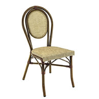 židle Paris Textylene Havana / Bamboo Look