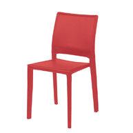 židle Pavia červená