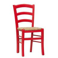 židle Pizza Color červená
