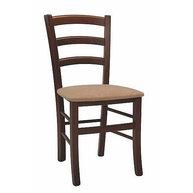židle Pizza s čalouněným sedákem