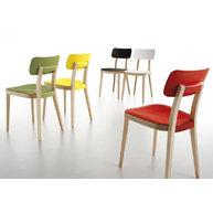 židle Porta Venezia s polypropylenovým sedákem