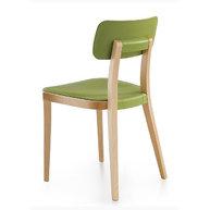 židle Porta Venezia v zelené barvě