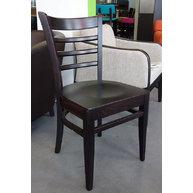 židle PUB dřevěný sedák