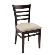 židle PUB wenge / beige 21
