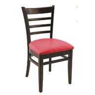 židle PUB wenge / bordeaux 37