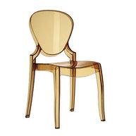 židle Queen ve zlatém provedení