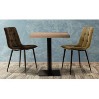 židle RAY a stůl COME 16