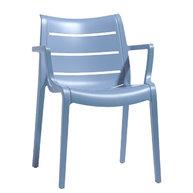židle Sunset světle modrá