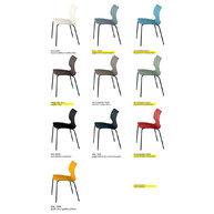 židle UNI přehled barev
