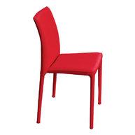 židle Venezia 10 červená