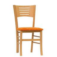 židle Verona s čalouněným sedákem