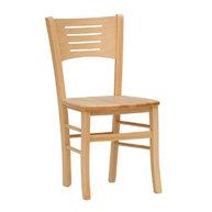 židle Verona v přírodním buku