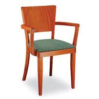 Dřevěné židle - dřevěná židle Josefina 262 s područkami
