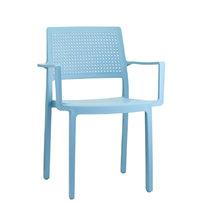 Plastové židle - Emi s područkami