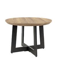 Industriální nábytek - konferenční stůl Ellen průměr 60cm