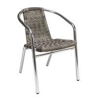 Zahradní židle - křeslo Barcelona Ash Grey