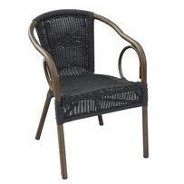Zahradní nábytek - židle - křeslo Costa Round Black