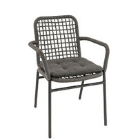 Zahradní židle - křeslo Fiori F Antracit