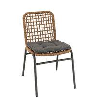 Zahradní židle - křeslo Fiori Straw