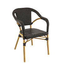 Zahradní židle - křeslo Madeleine Black