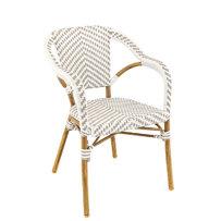 Zahradní židle - křeslo Madeleine Grey/White
