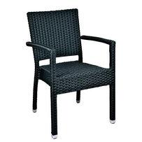 Zahradní nábytek - židle - křeslo Mezza A black