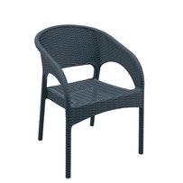 Zahradní židle - křeslo Panama Dark Grey